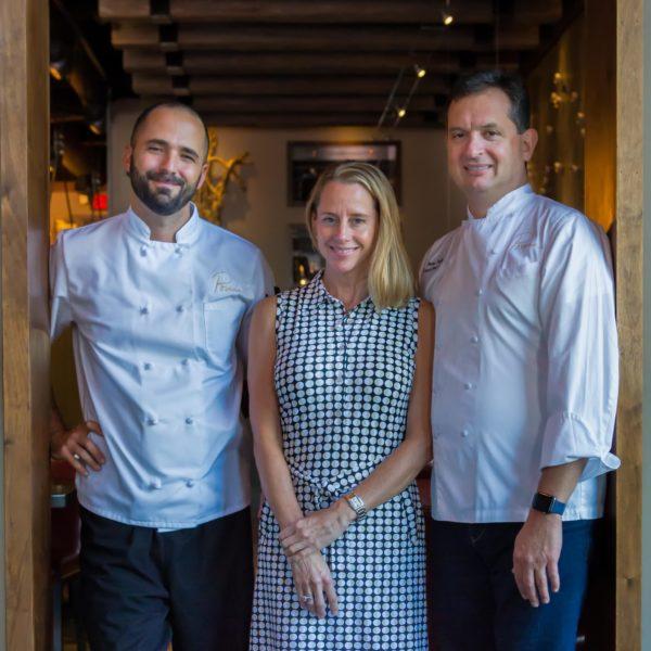 Bargello Exec Chef Jordan Arace, Mandara Hospitality Group Owners Martha and Peter Pollay