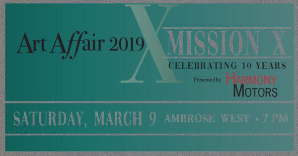 Art Affair 2019 Invitation